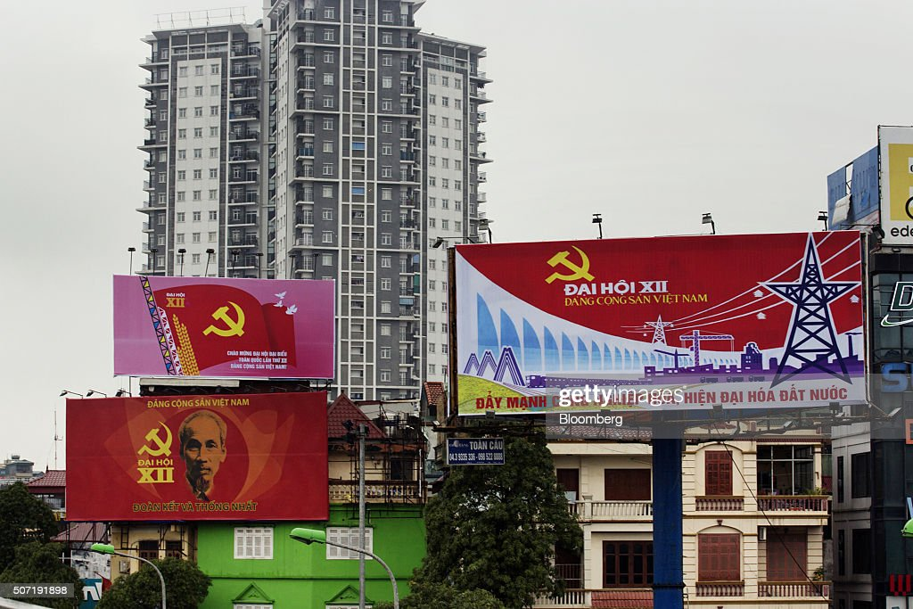 General Economy In The Capital As Vietnam Begins New Era : News Photo