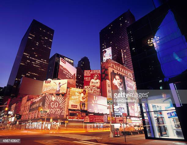 Billboards at Times Square, New York