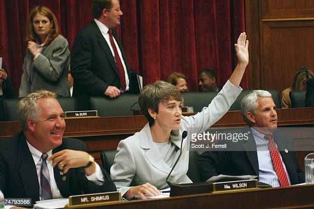 BILLDuring the House Energy and Commerce markup Heather A Wilson RNM asks for a show of hands in the room of who knows the name of the comptroller...