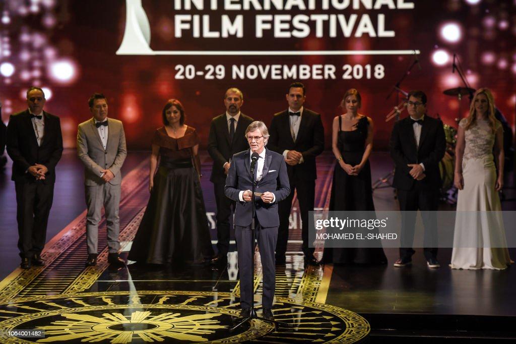 EGYPT-CINEMA-FILM-FESTIVAL : News Photo