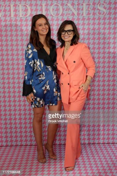 Billi FitzSimons and Lisa Wilkinson attend the David Jones SS19 Bright Night event at David Jones Elizabeth Street Store on September 04 2019 in...