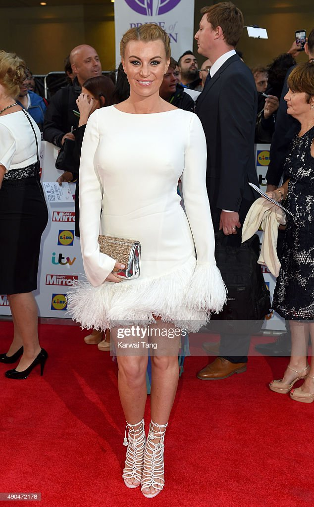 Billi Mucklow attends the Pride of Britain awards at The Grosvenor House Hotel on September 28, 2015 in London, England.