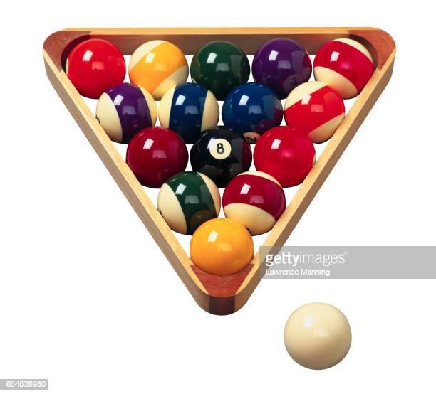 Billiard Balls in Rack