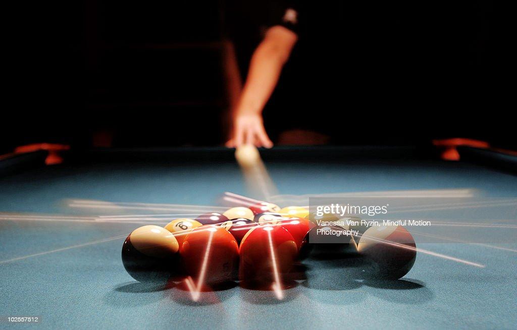 Billiards game   : Stock Photo