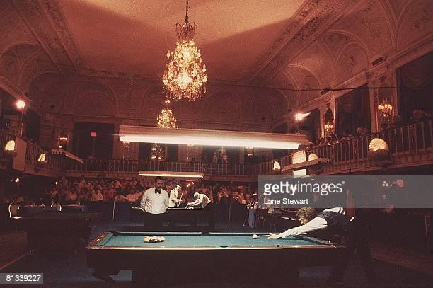 Billiards World Open Pocket Championships View of generic action at Grand Ballroom of Biltmore Hotel New York NY 8/19/1978
