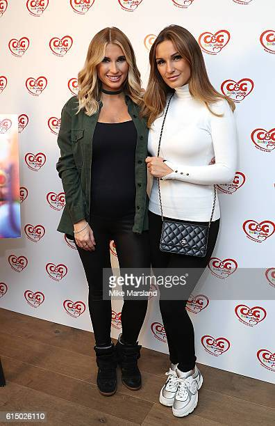Billie and Sam Faiers attend the CG baby club 'The Happy Song' Launch Event at Ham Yard Hotel on October 16 2016 in London England