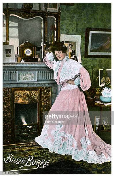 Billie Burke, American actress, c1903-1919. Billie Burke's stage career began in London in 1903. She later returned to the United States to become a...