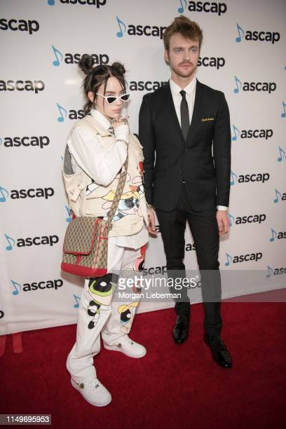 Billie Eilish and FINNEAS arrive at the 36th Annual ASCAP Pop Music Awards at The Beverly Hilton Hotel on May 16 2019 in Beverly Hills California