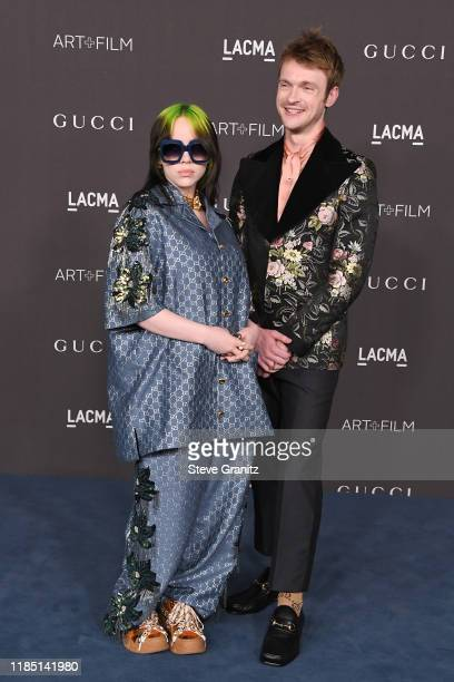 Billie Eilish and FINNEAS attend the 2019 LACMA Art Film Gala Presented By Gucci at LACMA on November 02 2019 in Los Angeles California