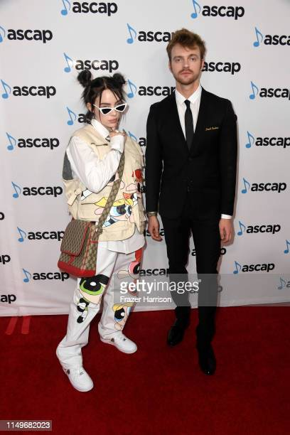 Billie Eilish and FINNEAS attend the 36th annual ASCAP Pop Music Awards at The Beverly Hilton Hotel on May 16, 2019 in Beverly Hills, California.