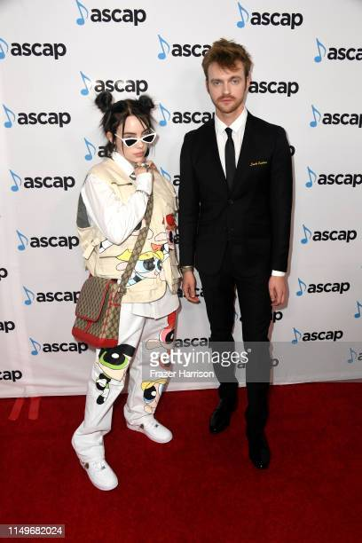Billie Eilish and FINNEAS attend the 36th annual ASCAP Pop Music Awards at The Beverly Hilton Hotel on May 16 2019 in Beverly Hills California