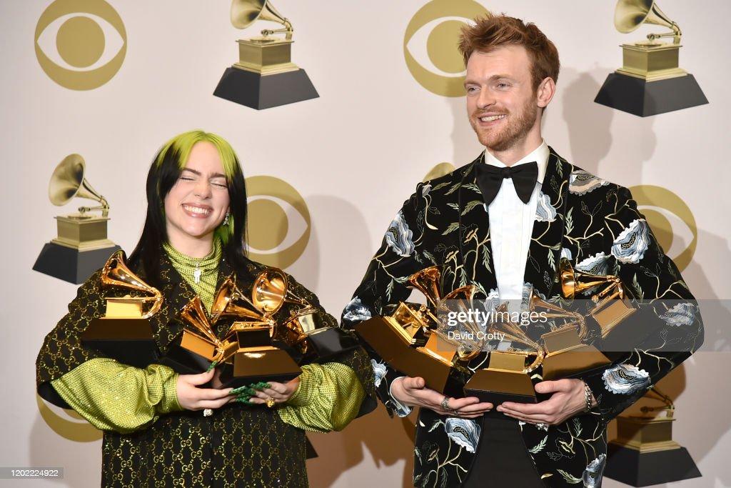 62nd Annual Grammy Awards - Press Room : Foto di attualità