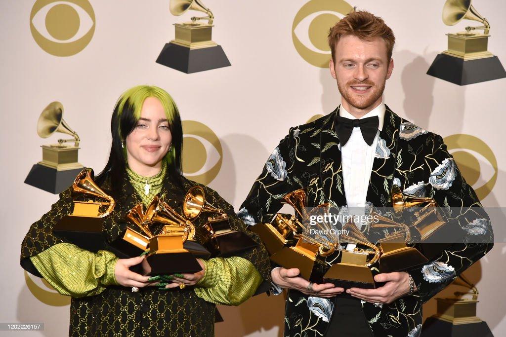 62nd Annual Grammy Awards - Press Room : News Photo