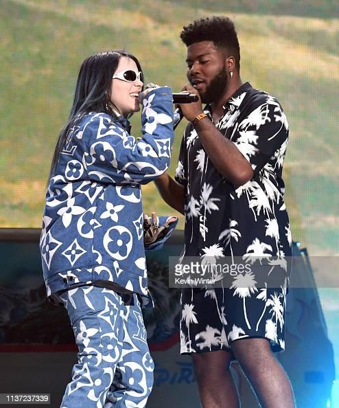 Billie Eilish Khalid: Billie Eilish And Khalid Perform On Coachella Stage During