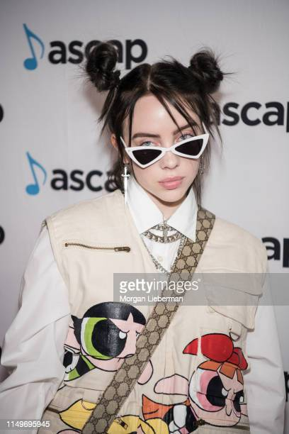 Billie Eilish arrives at the 36th Annual ASCAP Pop Music Awards at The Beverly Hilton Hotel on May 16 2019 in Beverly Hills California