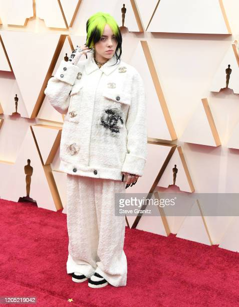 Billie Eilish arrives at the 92nd Annual Academy Awards at Hollywood and Highland on February 09 2020 in Hollywood California