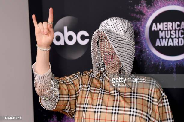 Billie Eilish attends the 2019 American Music Awards at Microsoft Theater on November 24 2019 in Los Angeles California