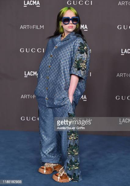 Billie Eilish attends the 2019 LACMA Art + Film Gala Presented By Gucci on November 02, 2019 in Los Angeles, California.