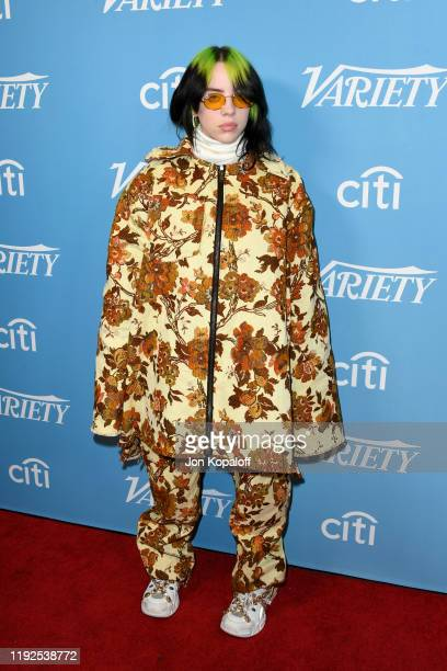 Billie Eilish attends the 2019 Variety's Hitmakers Brunch at Soho House on December 07, 2019 in West Hollywood, California.