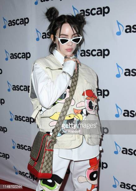Billie Eilish attends the 36th Annual ASCAP Pop Music Awards at The Beverly Hilton Hotel on May 16 2019 in Beverly Hills California