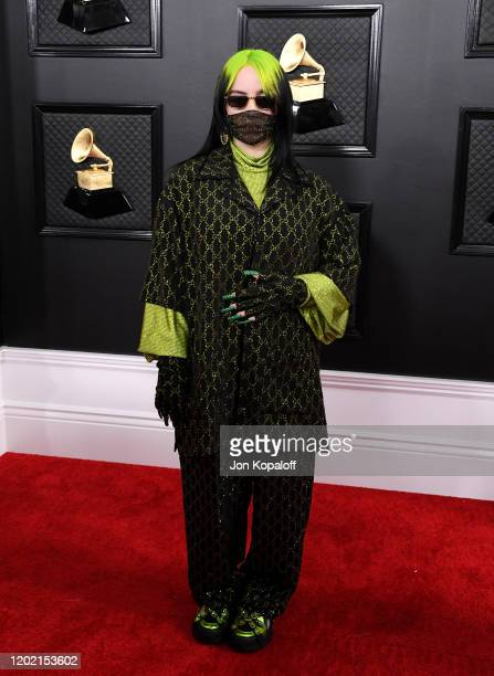 Billie Eilish attends the 62nd Annual GRAMMY Awards at Staples Center on January 26, 2020 in Los Angeles, California.
