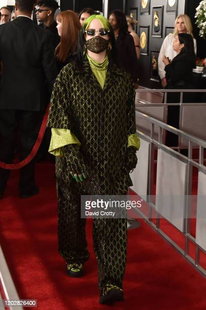 Billie Eilish attends the 62nd Annual Grammy Awards at Staples Center on January 26 2020 in Los Angeles CA