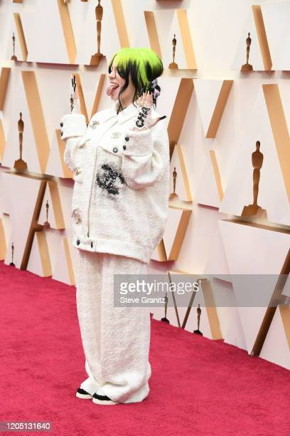 Billie Eilish attends the 92nd Annual Academy Awards at Hollywood and Highland on February 09, 2020 in Hollywood, California.