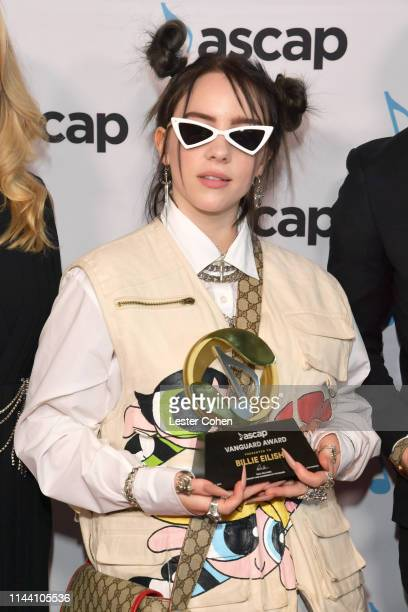 Billie Eilish attends the ASCAP 2019 Pop Music Awards at The Beverly Hilton Hotel on May 16 2019 in Beverly Hills California
