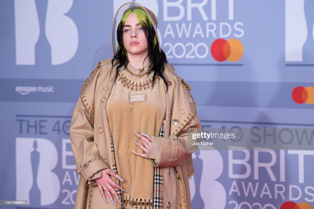 The BRIT Awards 2020 - Red Carpet Arrivals : News Photo