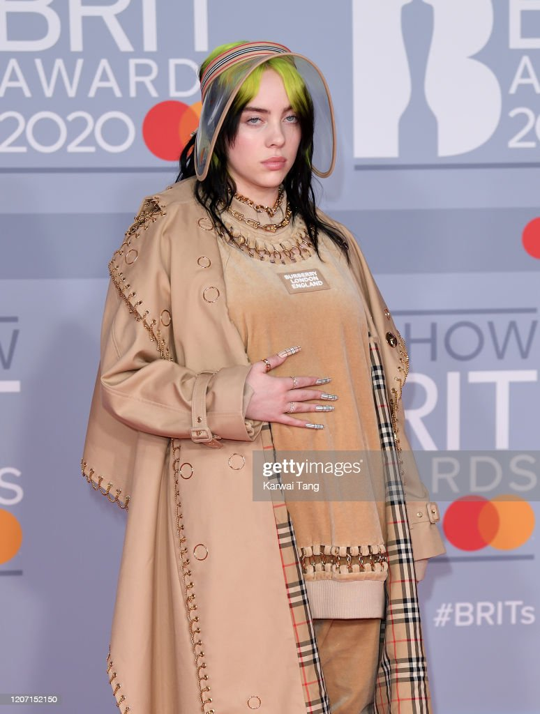 The BRIT Awards 2020 - Red Carpet Arrivals : Nieuwsfoto's