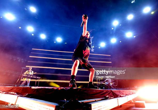 Billie Eilish performs at Outdoor Theatre during the 2019 in Indio California