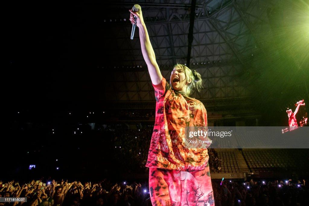 Billie Eilish Concert In Barcelona : Foto di attualità