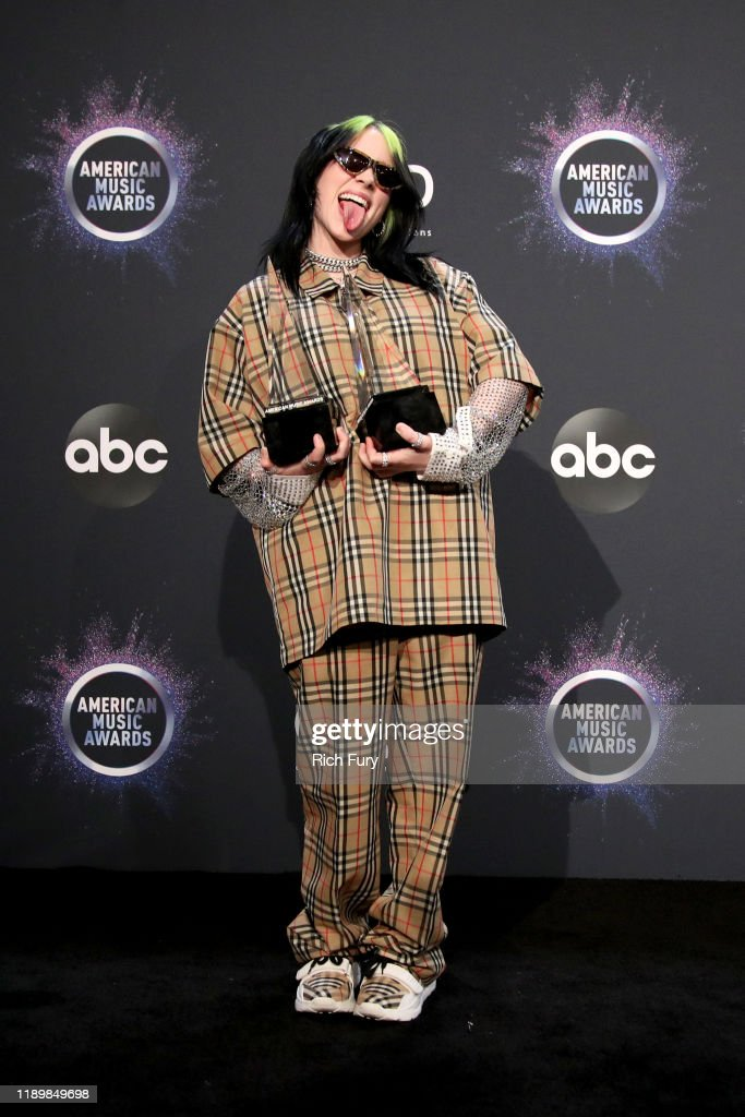 2019 American Music Awards - Press Room : News Photo