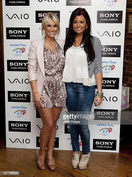 Billie Faiers And Jessica Wright Attend The Sony Vaio Reception For The Rainbow Trust, London.