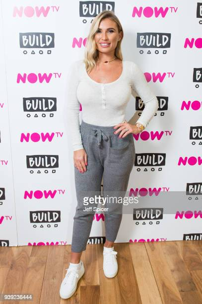 Billie Faiers arrives for a BUILD panel discussion on March 28 2018 in London England