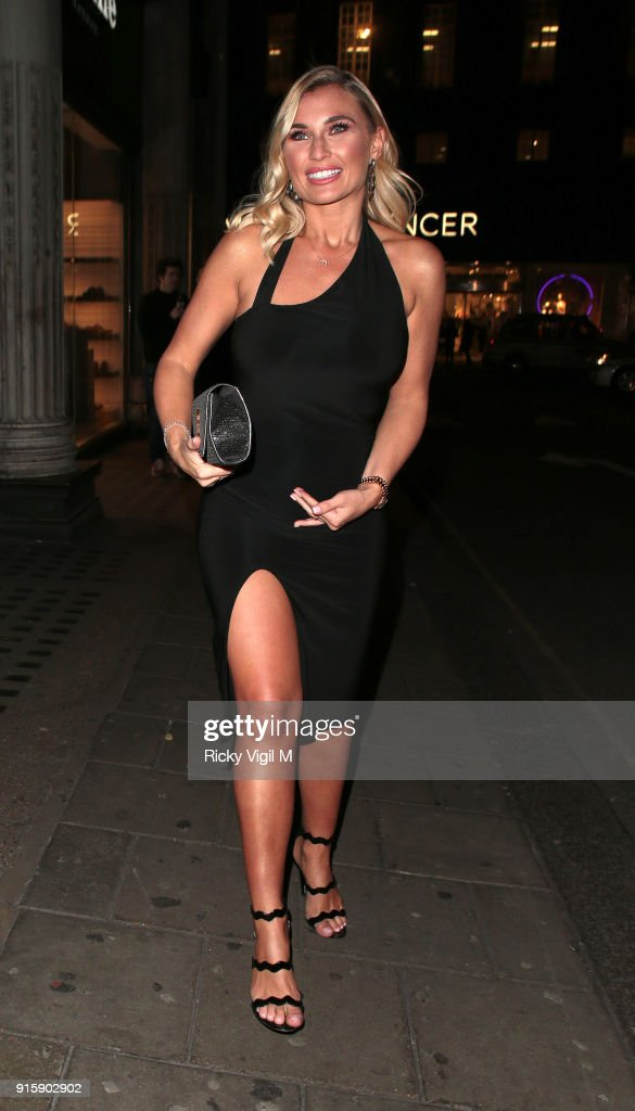 Billie Faiers attends In The Style TOTES OVER IT Valentine's Party at Libertine on February 8, 2018 in London, England.