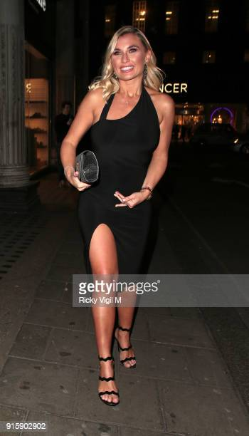 Billie Faiers attends In The Style TOTES OVER IT Valentine's Party at Libertine on February 8 2018 in London England