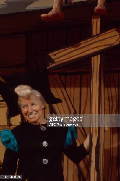 Billie Hayes appearing in the Walt Disney Television via Getty Images tv movie 'Li'l Abner'