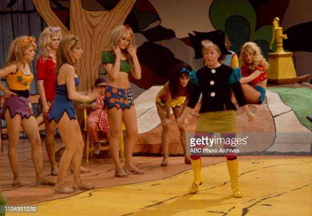 Billie Hayes, extras appearing in the Walt Disney Television via Getty Images tv movie 'Li'l Abner'.