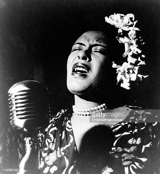 Billie Holiday African American jazz singer and songwriter