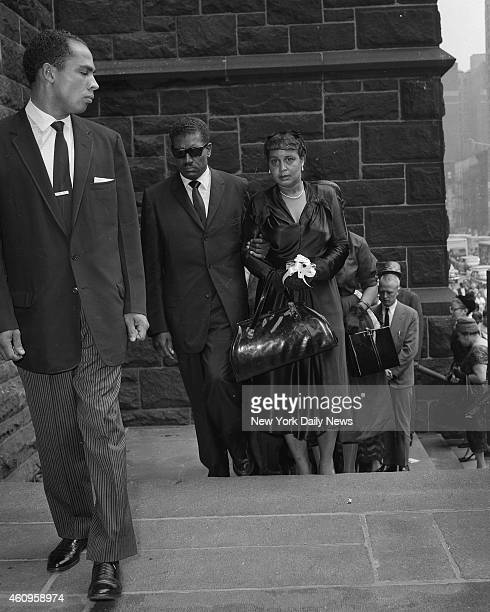 Billie Holiday Funeral at St Paul the Apottle Church on 60 St Columbus Ave Louis McKay and half sister Kay Kelly