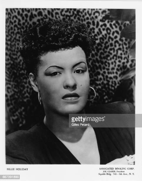 Billie Holiday studio portrait United States 1950