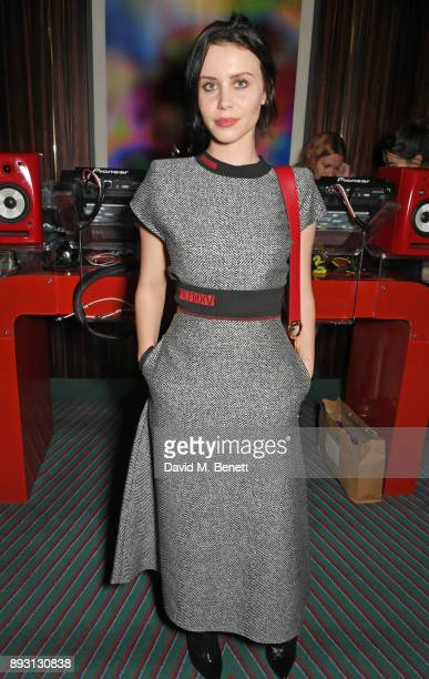 Billie JD Porter attends an after party celebrating the FENDI Sloane Street Boutique opening at Isabel on December 14 2017 in London England