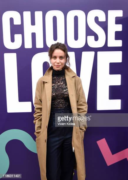 Billie JD Porter attends Choose Love Launches In Los Angeles On Giving Tuesday on December 3 2019 in Los Angeles California