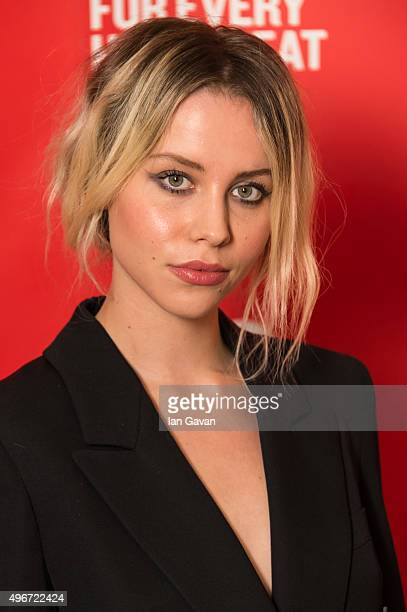 Billie JD Porter attends the British Heart Foundation's Tunnel of Love fundraiser at Victoria Albert Museum on November 11 2015 in London England
