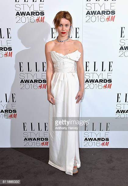 Billie JD Porter attends The Elle Style Awards 2016 on February 23 2016 in London England