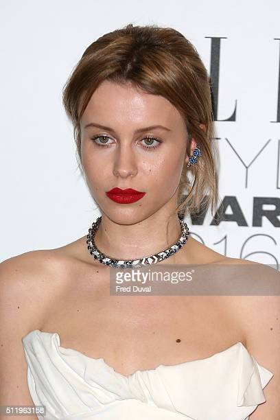 Billie JD Porter attends the Elle Style Awards 2016 on February 23, 2016 in London, England.