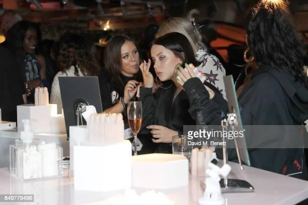 Billie JD Porter attends the Fenty Beauty x Harvey Nichols launch at Harvey Nichols on September 19 2017 in London England