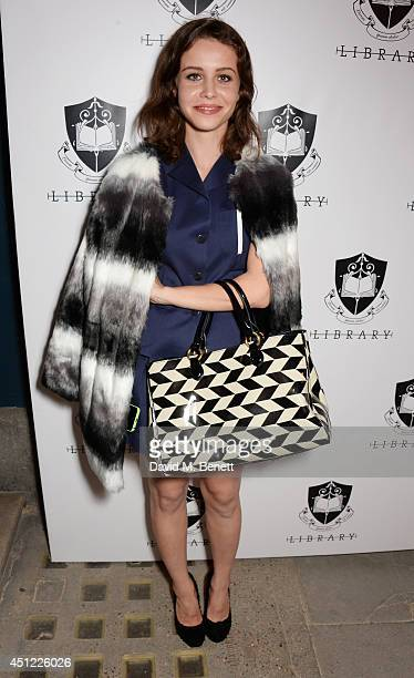 Billie JD Porter attends the grand opening of LIBRARY on June 25, 2014 in London, England.