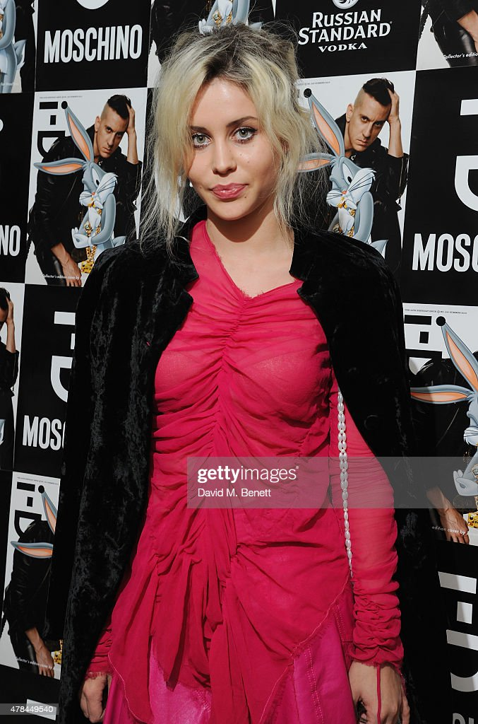 Billie JD Porter attends the i-D 35 x Jeremy Scott for Moschino party celebrating i-D Magazine's 35th anniversary at Il Bottaccio on June 24, 2015 in London, England.